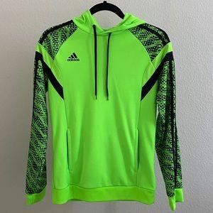 Adidas Neon Green/Black Hoodie